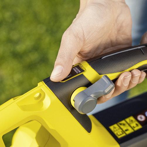 Vysávač a fukár lístia BLV 18-200 Battery: Turbo Boost