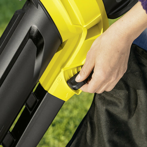 Vysávač a fukár lístia BLV 18-200 Battery: Prepínacia páka pre nastavenie funkcií