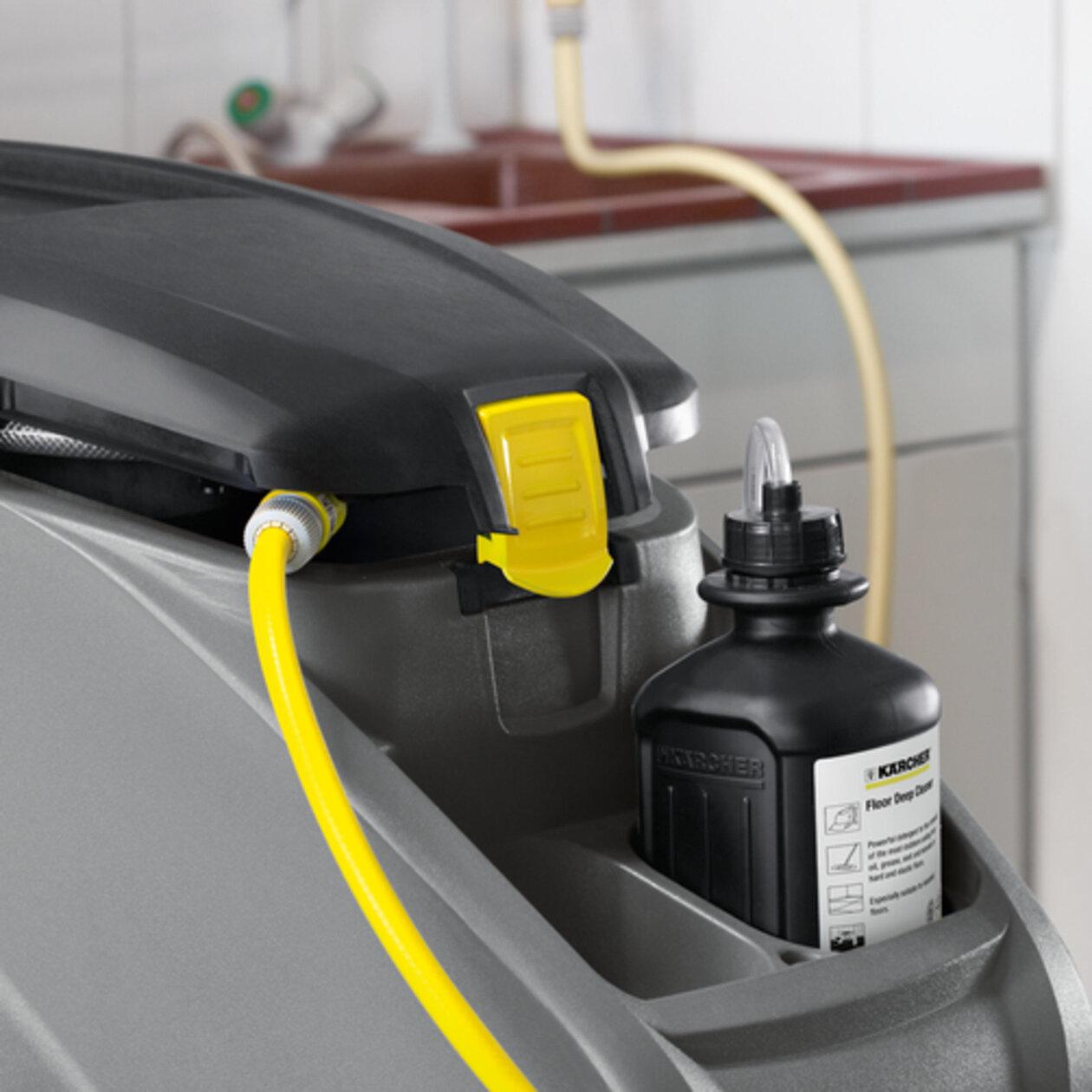 Schrob-/zuigmachine B 40 DOSE Fleet+105Ah+R55+Rinsing+AutoFi: Reinigingsmiddelendosering DOSE