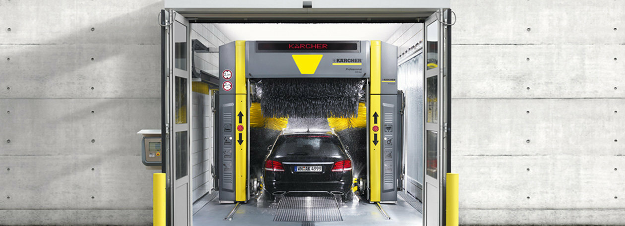 Car washes | Kärcher Cleaning Systems Private Limited