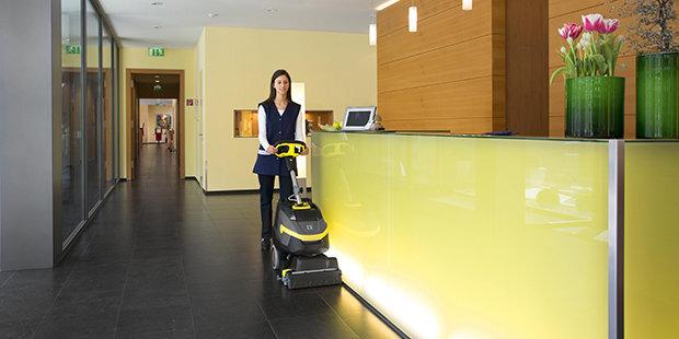 Floor Scrubbers Industrial Floor Cleaners Krcher