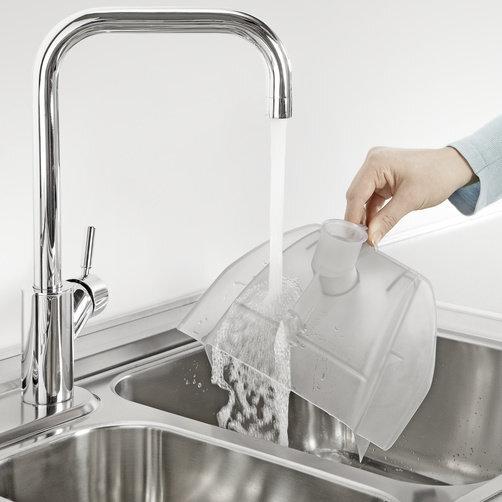 Пылесос с аквафильтром DS 6: Съемный аквафильтр легко мыть