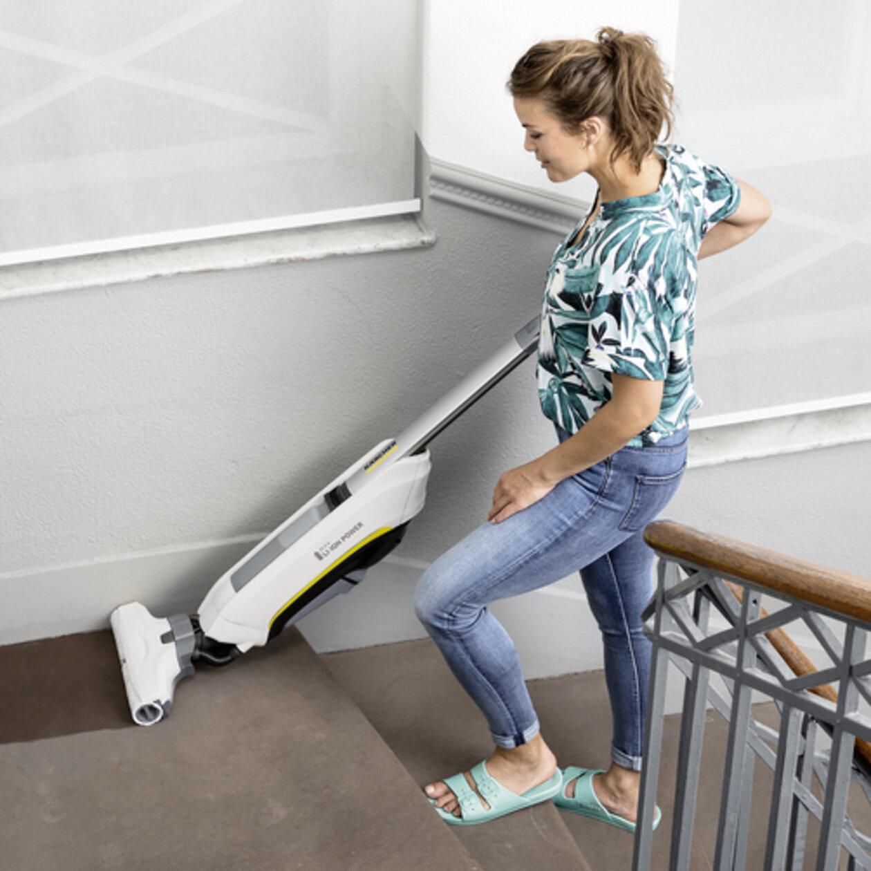 Поломойная машина для дома FC 5 Cordless Premium: Приблизительно 20 минут автономной работы от мощного литий-ионного аккумулятора