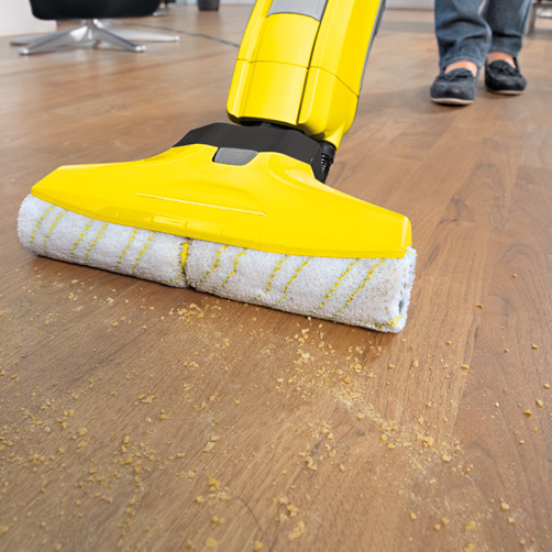 Hard floor cleaner FC 5: 2-in-1 function