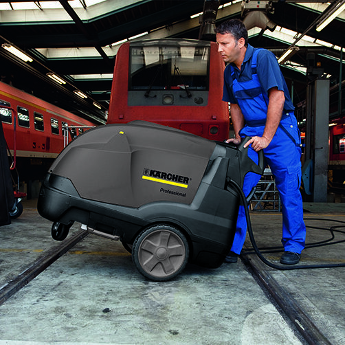 High pressure washer HDS-E 3.3/25-4 M Ef  24 kW: Mobility concept