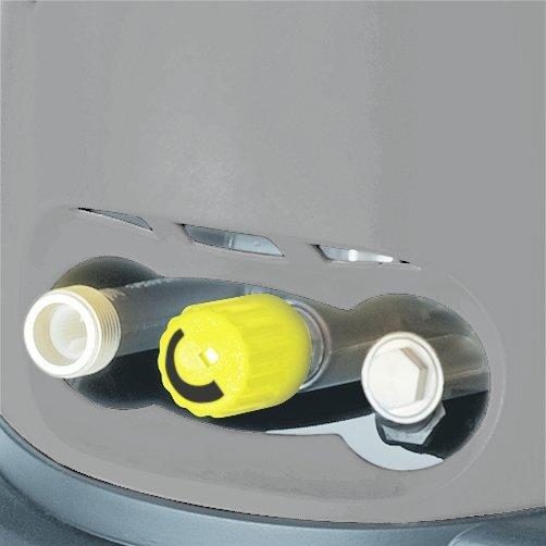 Аппарат высокого давления HD 6/15 C: Регулировка давления и расхода воды