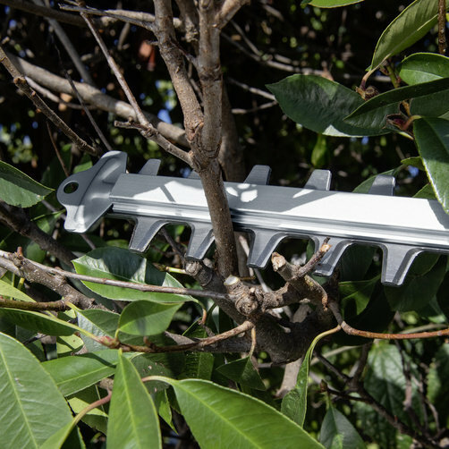 Nožnice na živý plot HGE Battery 18-50: Funkcia pílenia