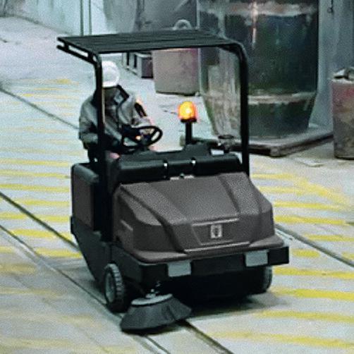 KM 120/250 R LPG Classic: Στιβαρός σχεδιασμός του μηχανήματος για ασφαλή εργασία