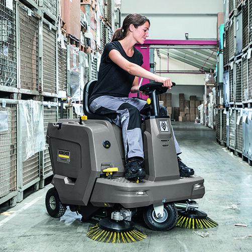 KM 85/50 R Bp: Ergonomía bien pensada para ofrecer una gran comodidad en el puesto de trabajo