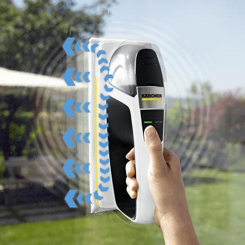 Vibrační bateriový čistič KV 4 Premium: Elektrické nanášení vody