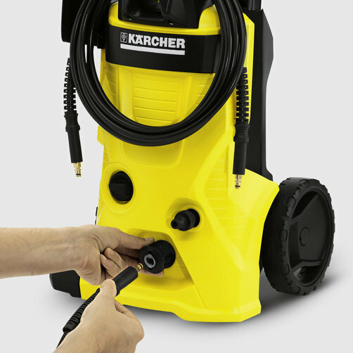 High pressure washer K 4 Classic: Quick Connect