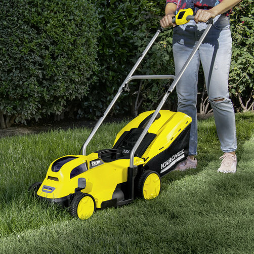 LMO 18 33 lawn mowing app 05 CI15502x502 - Cortacésped  KARCHER LMO 18-33 BATTERY.    1.444-400.0