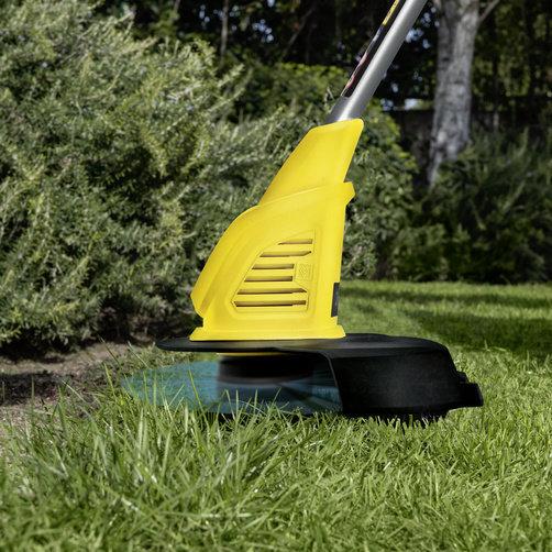 LTR 18 25 lawn trimming app 01 CI15502x502 - Podadora  KARCHER LTR 18-25 BATTERY.     1.444-300.0