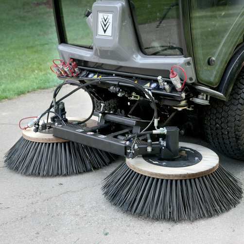 City sweeper MC 50 Advanced Comfort: Parallelogram guided brush system