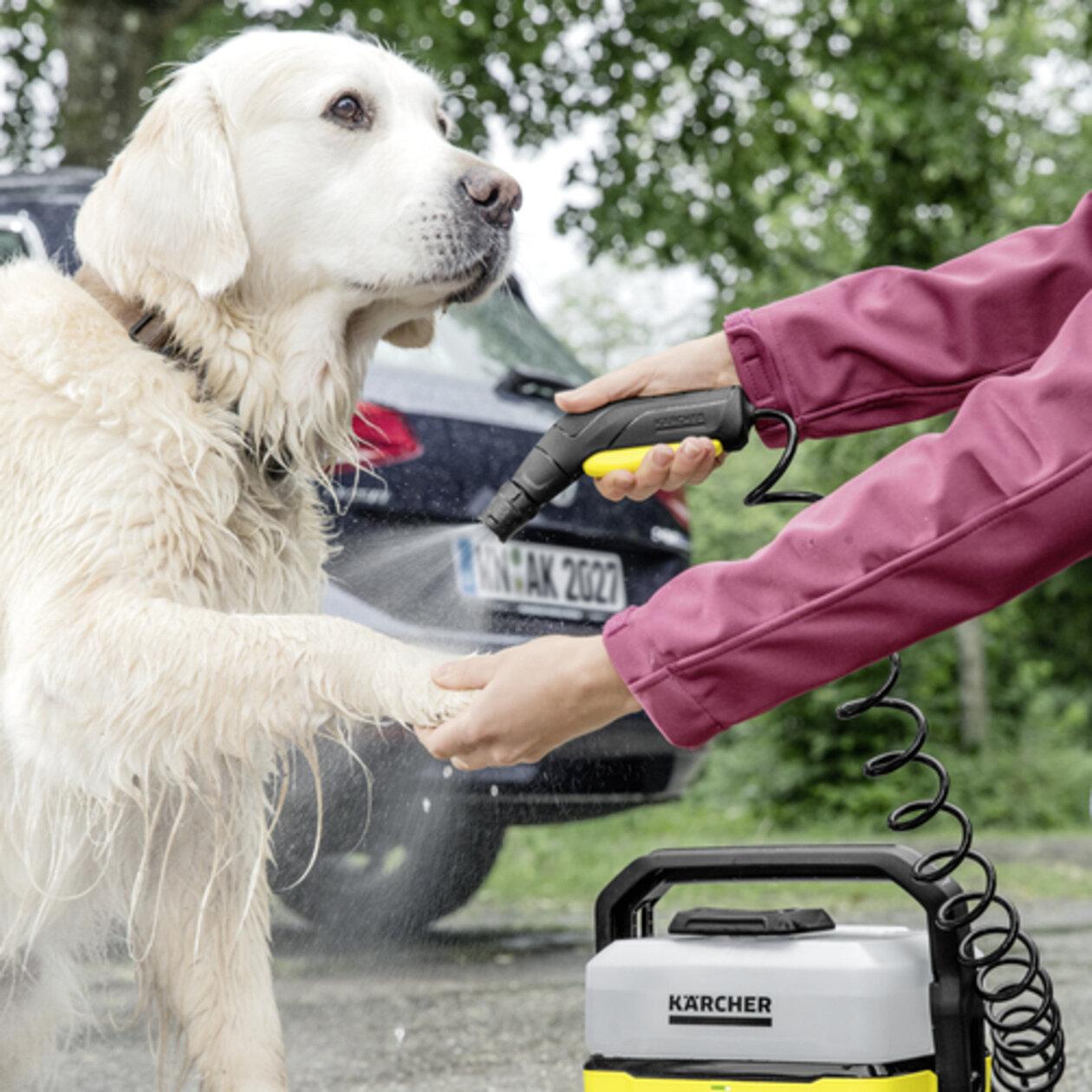 Mobile Outdoor Cleaner OC 3: Verimli fakat yumuşak düşük basınç