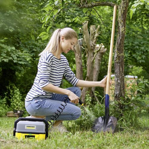 Mobile Outdoor Cleaner OC 3: Hatékony, de kímélő alacsony nyomás