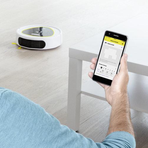 Робот-пылесос RC 3 (белый): Интеллектуальный аппарат с рядом привлекательных функций