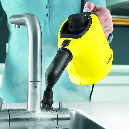 منظف البخار SC 1: ضغط بخار قوي 3.0 بار