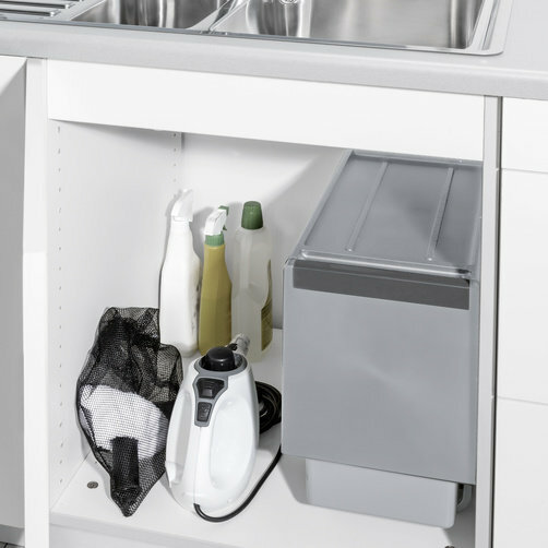 Steam cleaner SC 1 Premium + Floor Kit: Small, handy and easy to store