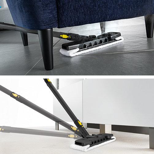 SC 3 *AR: Kit de limpieza para suelos Comfort con articulación flexible en la boquilla para suelos