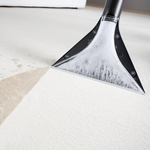 Моющий пылесос SE 6.100: Конструкция насадки ускоряет высыхание на 50 %