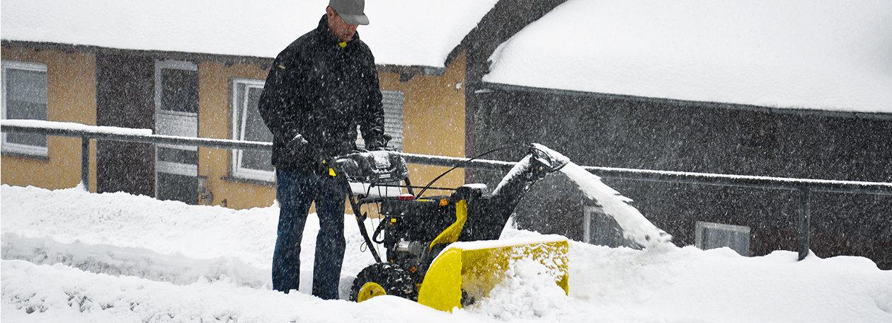 Schneefräsen – und der Winter kann kommen