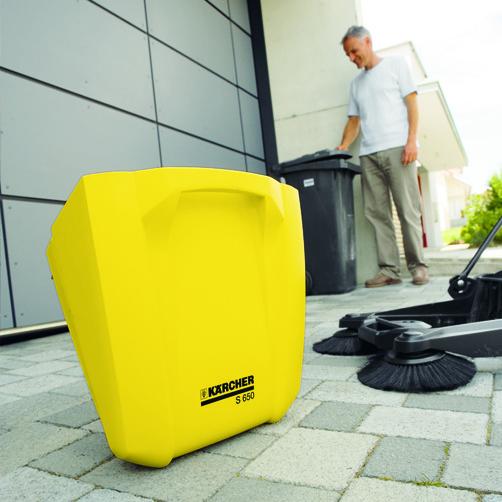 S 650: Opretstående affaldsbeholder