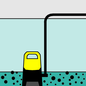Bomba sumergible de agua sucia SP 7 Dirt Inox