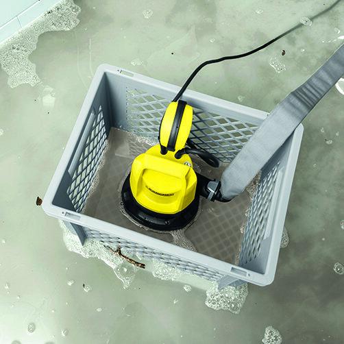 Submersible pump box: Πρακτικό πλαστικό κουτί με πλέγματα