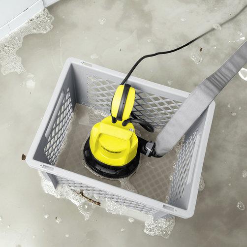 Ponorné kalové čerpadlo SP 5 Dirt + box pro ponorné čerpadlo: Praktický plastový box s oky