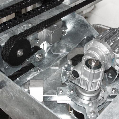 Haszongépjármű tisztítás TB 46 FLEX   *EU: A könnyű karbantartás idő- és költségkímélő.