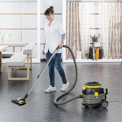Пылесос сухой уборки T 15/1 Eco!efficiency: Наведение чистоты с экономией энергии