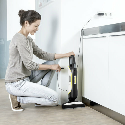 Ручной пылесос VC 5 Cordless Premium: Удобная зарядка
