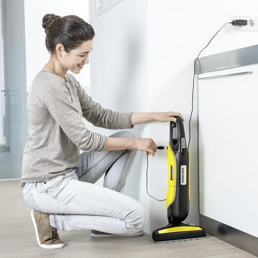 Kézi porszívó VC 5 akkumulátoros: Kényelmes töltés
