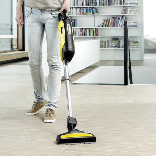 Handheld vacuum cleaner VC 5 Cordless: Long running time