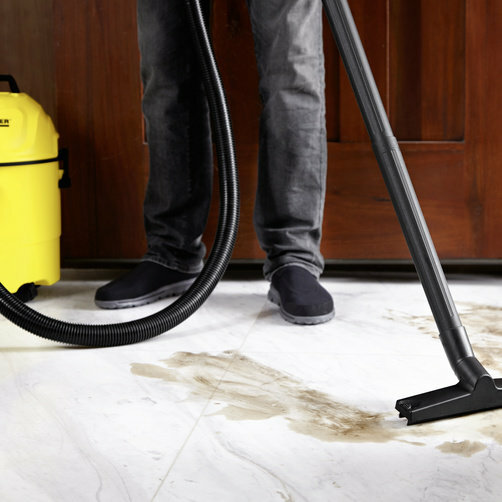 Multi-purpose vacuum cleaner WD 1 Home: Special accessories for cleaning different floor coverings, upholstery and furniture