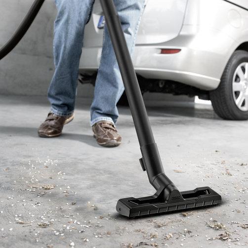Víceúčelový vysavač WD 3: Nově vyvinutá podlahová hubice a sací hadice