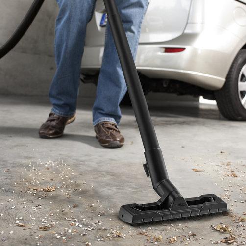 Viacúčelový vysávač Viacúčelový vysávač WD 2: Optimalizovaná podlahová hubica