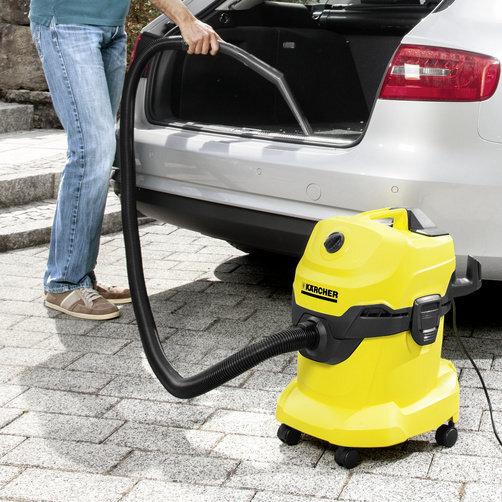Многоцелева смукачки WD 4 Car: Специални аксесоари за вътрешно почистване на автомобили