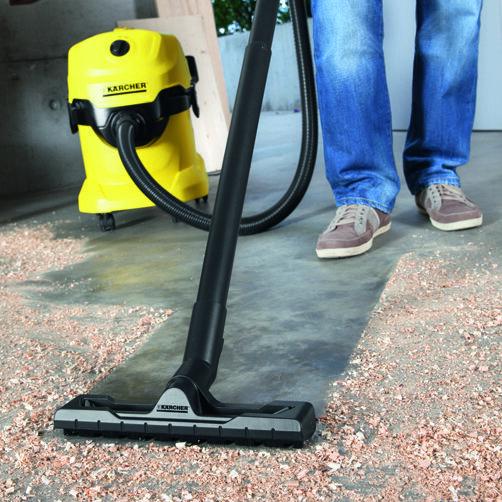Многоцелева смукачки WD 4: Новоразработена дюза за почистване на подове и маркуч