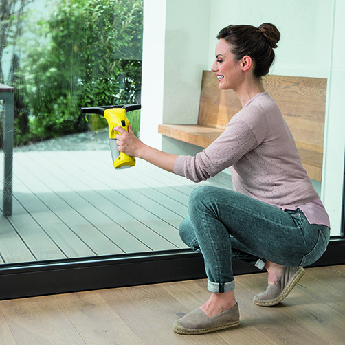 Window Vac WV 1 Plus (jaune): Compact et prise en main facile