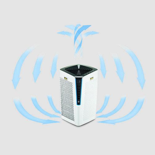 Air Purifier Oczyszczacz powietrza AF 100 Promo: Przeznaczony do pomieszczeń o wielkości do 100 m²
