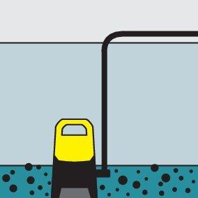Szennyezettvíz merülőszivattyú SP 1 Dirt