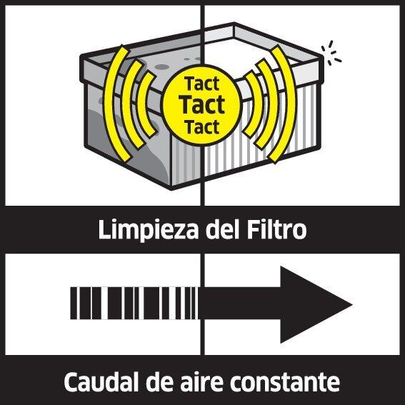 illu tact system oth 1 ES CI15 CMYK - ASPIRADOTES  KARCHER  SECO/HUMEDONT 40/1 TACT TE M WOOD 1.148-356.0
