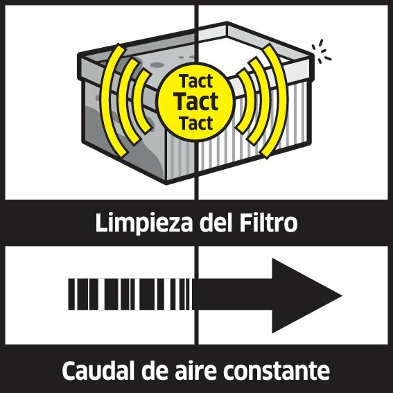 illu tact system oth 1 ES CI15 CMYK 1 1 - ASPIRADORA EN SECO Y HÚMEDO - FILTRO PLANO ECO  KARCHER- NT 75/2 TACT² ME 1.667-288.0