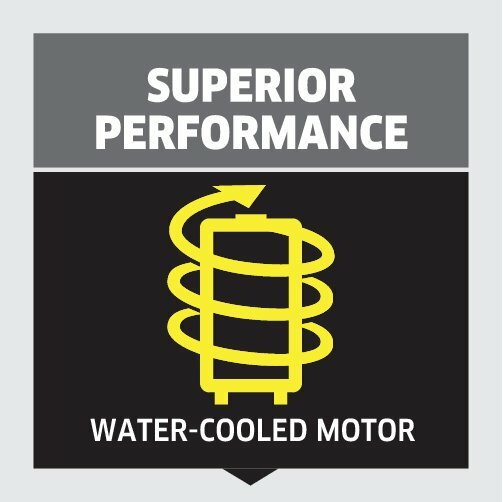 High pressure washer K 7 Compact: Water-cooled motor and outstanding performance