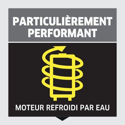 Nettoyeur haute pression K 5 Compact: Moteur refroidit par eau et performance accrue.