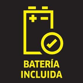 picto battery included oth 01 ES CI15 - LIMPIADORA A PRESION KARCHER CON BATERIA KHB 5 BATTERY SET 1.328-100.0
