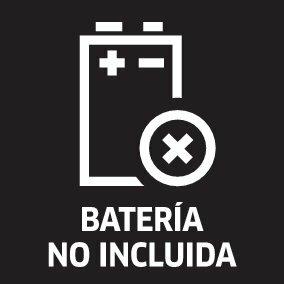 picto battery not included oth 01 ES CI15 - LIMPIADORA A PRESION KARCHER A BATERIA KHB 6 BATTERY 1.328-010.0