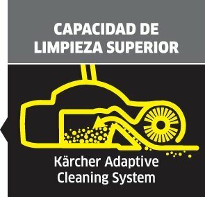 picto cleaning performance left oth 1 ES CI15295x284 - Escoba eléctrica KARCHER  KB 5. 1.258-000.0